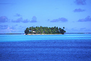 Motu, island, Bora Bora, French Polynesia<br />