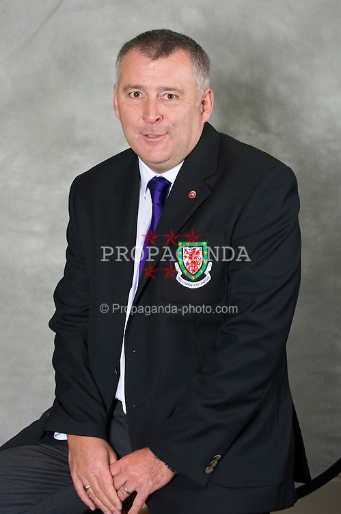 CHESTER, ENGLAND - Wednesday, August 26, 2009: Football Association of Wales Council Member Steve Williams. (Pic by David Rawcliffe/Propaganda)