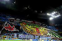 Inter fans coreography prior to the Serie A 2018/2019 football match between Fc Internazionale and AC Milan at Giuseppe Meazza stadium Allianz Stadium, Milano, October, 21, 2018 <br />  Foto Andrea Staccioli / Insidefoto