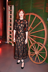 Karen Elson at the Save The Children's Night of Country at The Roundhouse, London England. 2 March 2017.