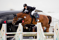 Spits Jorich, BEL, Karmijn ES<br /> BK Young Horses 2020<br /> © Hippo Foto - Sharon Vandeput<br /> 6/09/20