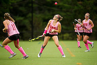 St Paul's School Field Hockey versus New Hampton School.  ©2016 Karen Bobotas Photographer