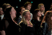 NUI Galway Singers in Choir Factor 2014 in the Radisson blu Hotel, Galway in aid of SCCUL Sanctuary at Kilcuan, Clarinbridge . Photo:Andrew Downes.