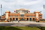 University of Oklahoma Gaylord Family Oklahoma Memorial Stadium in Norman, Okla. on Wednesday, Oct. 17, 2018. Photo copyright © 2018 Alonzo J. Adams.