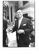 Paul Quatrochi. birthday drinks. players Club, Gramercy park. New York 11 Jan 94. © Copyright Photograph by Dafydd Jones 66 Stockwell Park Rd. London SW9 0DA Tel 020 7733 0108 www.dafjones.com
