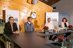 Riesenbeck, Pferdesportzentrum, RIESENBECK - Int. Deutsche Meisterschaften Springen 2020,<br /> <br /> LUETTEKEN Karsten (Geschaeftsfuehrer), BEERBAUM Ludger (Veranstalter), BECKER Otto (Bundestrainer Springreiten), STUEBEL Susanne (Pressechefin) <br /> Virtuelle Pressekonferenz<br /> <br /> 03. December 2020<br /> © www.sportfotos-lafrentz.de/Stefan Lafrentz