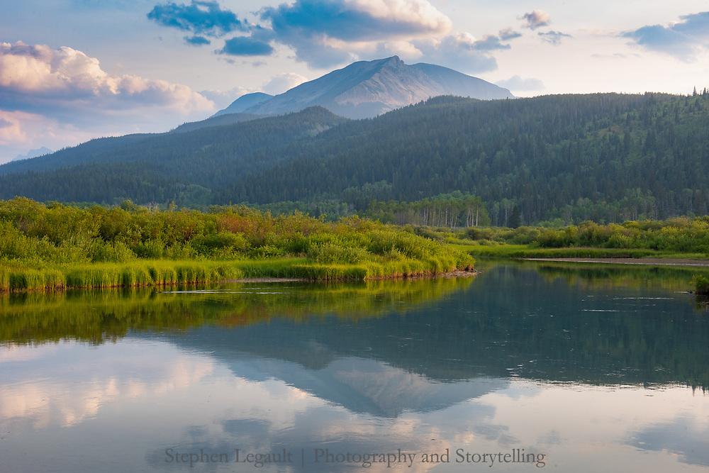 Belly River, Sarcee Mountain, Waterton Lakes National Park