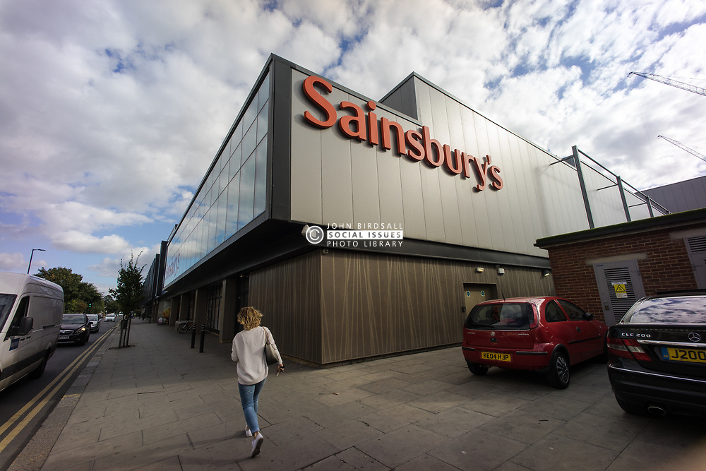 Sainsbury's supermarket, Northumberland Park, Tottenham, London Borough of Haringey