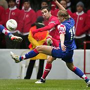 Turkey's Arda TURAN (L) during their UEFA EURO 2012 Play-off for Final Tournament First leg soccer match Turkey betwen Croatia at TT Arena in Istanbul Nüovember11, 2011. Photo by TURKPIX