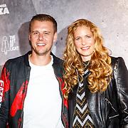 NLD/Amsterdam/20160506 - Première Armin Only Embrace, Armin van Buuren en partner Erika van Thiel