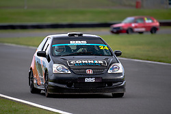 Callum Houchen pictured while competing in the 750 Motor Club's Hot Hatch Championship. Picture taken at Snetterton on October 17, 2020 by 750 Motor Club photographer Jonathan Elsey