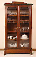 2010 - Antique hutch with glass doors