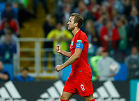 Harry Kane (England) celebration during the penalty shootout<br /> Moscow 03-07-2018 Football FIFA World Cup Russia 2018 <br /> Colombia - England / Colombia - Inghilterra<br /> Foto Matteo Ciambelli/Insidefoto
