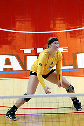 07 October 2017:  Katherine Carlson during a college women's volleyball match between the Crusaders of Valparaiso and the Illinois State Redbirds at Redbird Arena in Normal IL (Photo by Alan Look)