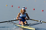 20040814 Olympic Games Athens Greece [Rowing]<br /> Photo  Peter Spurrier <br /> RUS W1X Irina Fedotova<br /> email;  images@intersport-images.com<br /> Tel +44 7973 819 551<br /> T<br /> <br /> <br /> [Mandatory Credit Peter Spurrier/ Intersport Images]