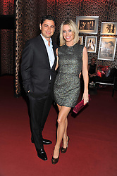 CEM & CAROLINE HABIB at a party hosted by Roberto Cavalli to celebrate his new Boutique's opening at 22 Sloane Street, London followed by a party at Battersea Power Station, London SW8 on 17th September 2011.