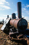 """Alaska. Historic Council City and Solomon Railroad east of Nome,  """"Last Train to Nowhere"""" used from 1903 - 1907"""