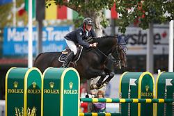 Borrin Alexis, (FRA), Marlou des Etisses <br /> CP International Grand Prix presented by Rolex<br /> Spruce Meadows Masters - Calgary 2015<br /> © Hippo Foto - Dirk Caremans<br /> 13/09/15