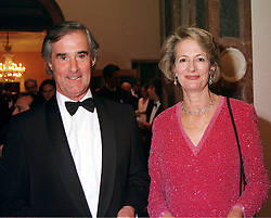 BARONESS JAY and her husband PROF.MICHAEL ADLER, at <br /> a dinner in London on 23rd May 2000.OEL 75