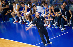 Stefano Sacripanti, head coach of Italy during basketball match between National team of Slovenia and Italy in First Round of U20 Men European Championship Slovenia 2012, on July 12, 2012 in Domzale, Slovenia.  (Photo by Vid Ponikvar / Sportida.com)