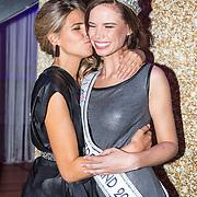 NLD/Hilversum/20171009 - Finale Miss Nederland 2017, Nicky Opheij en Kim Kotter