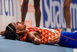 01-03-2018 GBR: World Athletics Indoor, Birmingham<br /> Bij de WK indoor atletiek heeft Sifan Hassan donderdagavond zilver gepakt op de 3000 meter.
