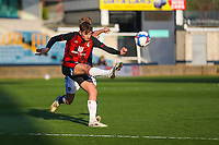 Football - 2020 / 2021 Sky Bet (EFL) Championship - Millwall vs AFC Bournemouth  - The Den<br /> <br /> David Brooks (AFC Bournemouth) hooks the ball clear<br /> <br /> COLORSPORT/DANIEL BEARHAM