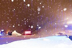 27.12.2017, Hochstein, Lienz, AUT, FIS Weltcup Ski Alpin, Lienz, Vorbericht, im Bild Schneefall bei Nacht // snowfall before the FIS Ski Worldcup at the Hochstein in Lienz, Austria on 2017/12/27, EXPA Pictures © 2017, PhotoCredit: EXPA/ Michael Gruber