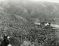 1925 Easter Sunrise Service at the Hollywood Bowl