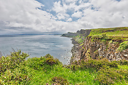 Kilt Rock cliff on Isle of Skye, Scotland, UK