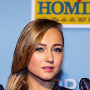 NLD/Amsterdam/20150119 - Premiere film Homies, cast, Caroline Spoor