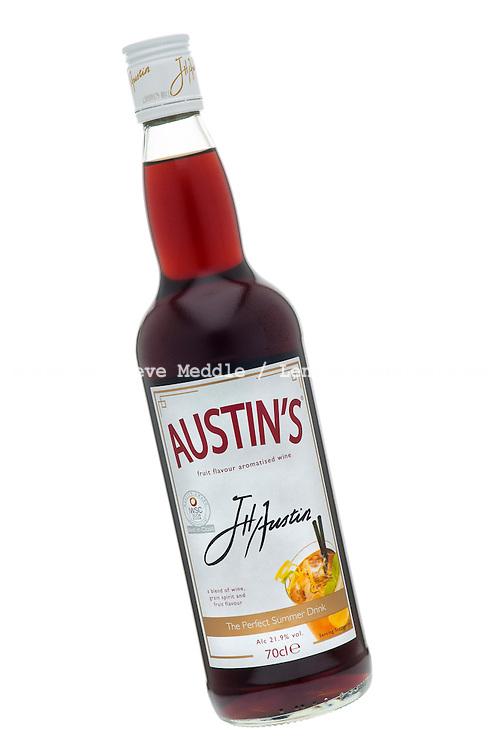 Bottle of Austin's Fruit Flavour Wine - 2011