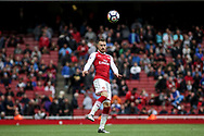 Aaron Ramsey of Arsenal in action. Premier league match, Arsenal v AFC Bournemouth at the Emirates Stadium in London on Saturday 9th September 2017. pic by Kieran Clarke, Andrew Orchard sports photography.