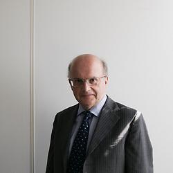 Jean-Paul Betbeze is Chief Economist (Head of Economic Research Department) at Credit Agricole SA, a French bank. Paris, France. Photo: Antoine Doyen
