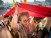 Wat Saket Temple Procession
