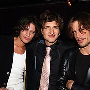 Uitreiking Starstyle awards, Tygo Gernandt, Sebastiaan labrie en model Andre van Noord