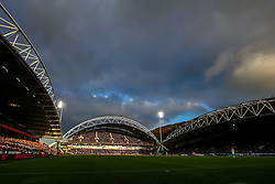 A general view of The John Smith's Stadium, home to Huddersfield Town - Mandatory by-line: Robbie Stephenson/JMP - 20/01/2019 - FOOTBALL - The John Smith's Stadium - Huddersfield, England - Huddersfield Town v Manchester City - Premier League