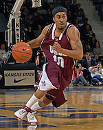 Maryland Eastern Shore guard Jesse Brooks in action against Kansas State at Bramlage Coliseum in Manhattan, Kansas, December 19, 2006.  K-State defeated UMES 79-58.<br />