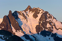 NE face of Mount Shuksan (9131 feet, 2783 meters) with view of the Price Glacier, North Cascades Washington  beauty in nature
