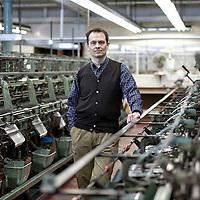 John Smedley Ltd, Matlock - portraits of Ian MacLean CEO - For RBS Magazine