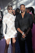 June 3, 2019-Brooklyn, New York-United States: (L-R) Model Frida Aasen and Designer LeQuan Smith attend the 2019 CFDA Fashion Awards Red Carpet held at the Brooklyn Museum on June 3, 2019 in the Brooklyn section of New York City. The most influential designers, editors and VIP's gather for one of the biggest awards shows in the fashion world.  (photo by terrence jennings/terrencejennings.com)