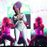 WASHINGTON, D.C. - April 3, 2011 - Nicki Minaj performs during the 'I Am Still Music' tour at the Verizon Center on April 3, 2011 in Washington, D.C.. (Photo by Kyle Gustafson/For The Washington Post)