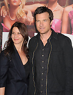 """WESTWOOD, CA - APRIL 28: Amanda Anka and Jason Bateman arrive at the premiere of Universal Pictures' """"Bridesmaids"""" held at Mann Village Theatre on April 28, 2011 in Los Angeles, California."""