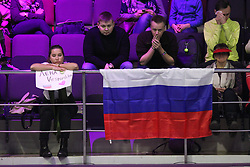 January 31, 2018 - Saint-Petersburg, Russia - Russian Federation. Saint-Petersburg. Tennis. Tennis tournament. Women. Girls. Tennis, St. Petersburg Ladies Trophy, Elena Vesnina. (Credit Image: © Russian Look via ZUMA Wire)