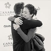 Canada's Walk of Fame Inductee Jason Priestley and Presenter Tatiana Maslany