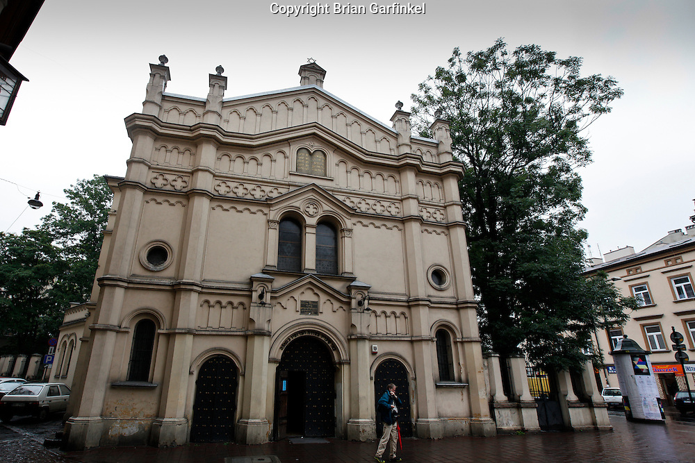 A Synagogue in Krakow, Poland on Monday July 4th 2011.  (Photo by Brian Garfinkel)