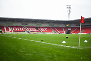 General view of the Keepmoat Stadium before the EFL Sky Bet League 1 match between Doncaster Rovers and Scunthorpe United at the Keepmoat Stadium, Doncaster, England on 15 December 2018.