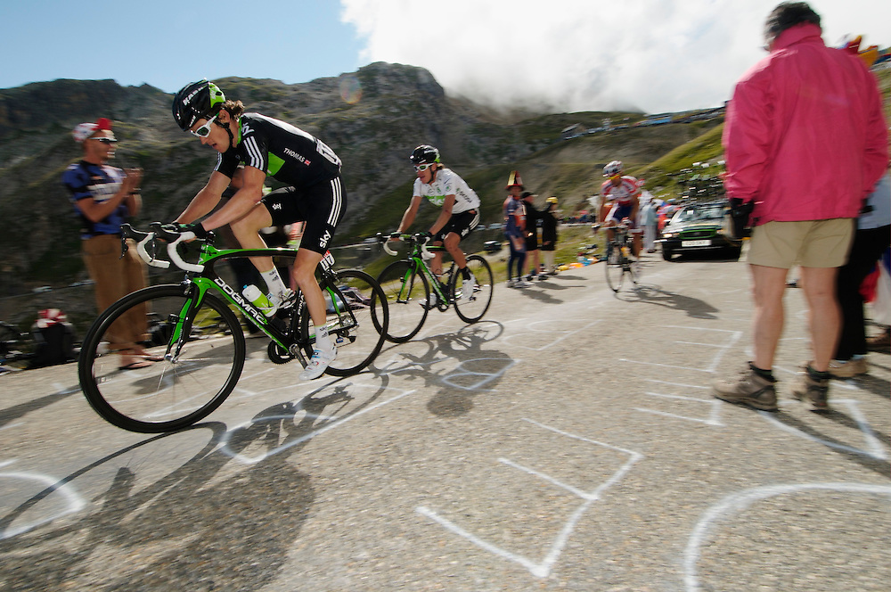 Tour de France 2011 mountain stages, col du galibier and alp d'huez.
