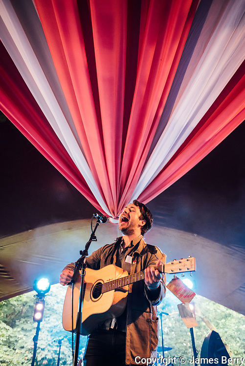 Money perform live in the Sunrise Arena on Day 3 of Latitude Festival 2016, Saturday 16 July. Picture shows Jamie Lee.
