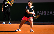 Carla Suarez Navarro of Spain during practice ahead of the Roland-Garros 2021, Grand Slam tennis tournament, Qualifying, on May 28, 2021 at Roland-Garros stadium in Paris, France - Photo Rob Prange / Spain ProSportsImages / DPPI / ProSportsImages / DPPI